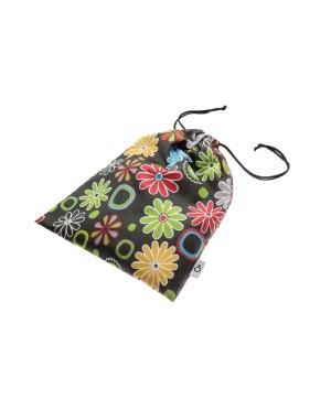 worek wodoodporny w kwiatki na basen