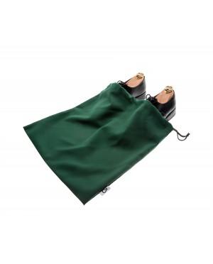 Worek dwukomorowy na buty zielony
