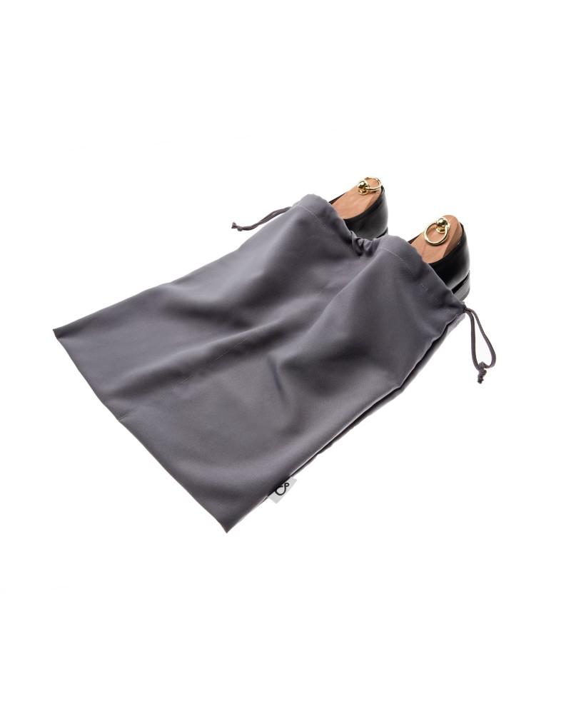 Worek dwukomorowy na buty szary