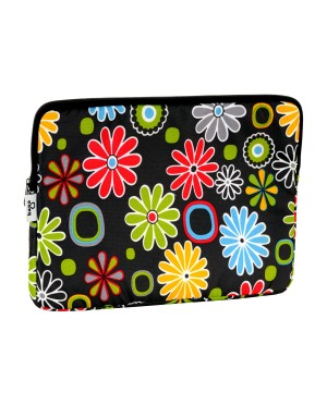 Wodoodporne etui do laptopa wzór kwiatki 13''