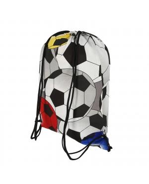 plecak bawełniany wzór piłki 15L