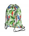 plecak bawełniany wzór tropikalny 15L